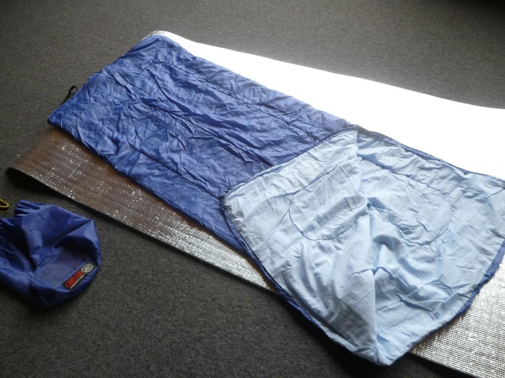 寝袋レンタル